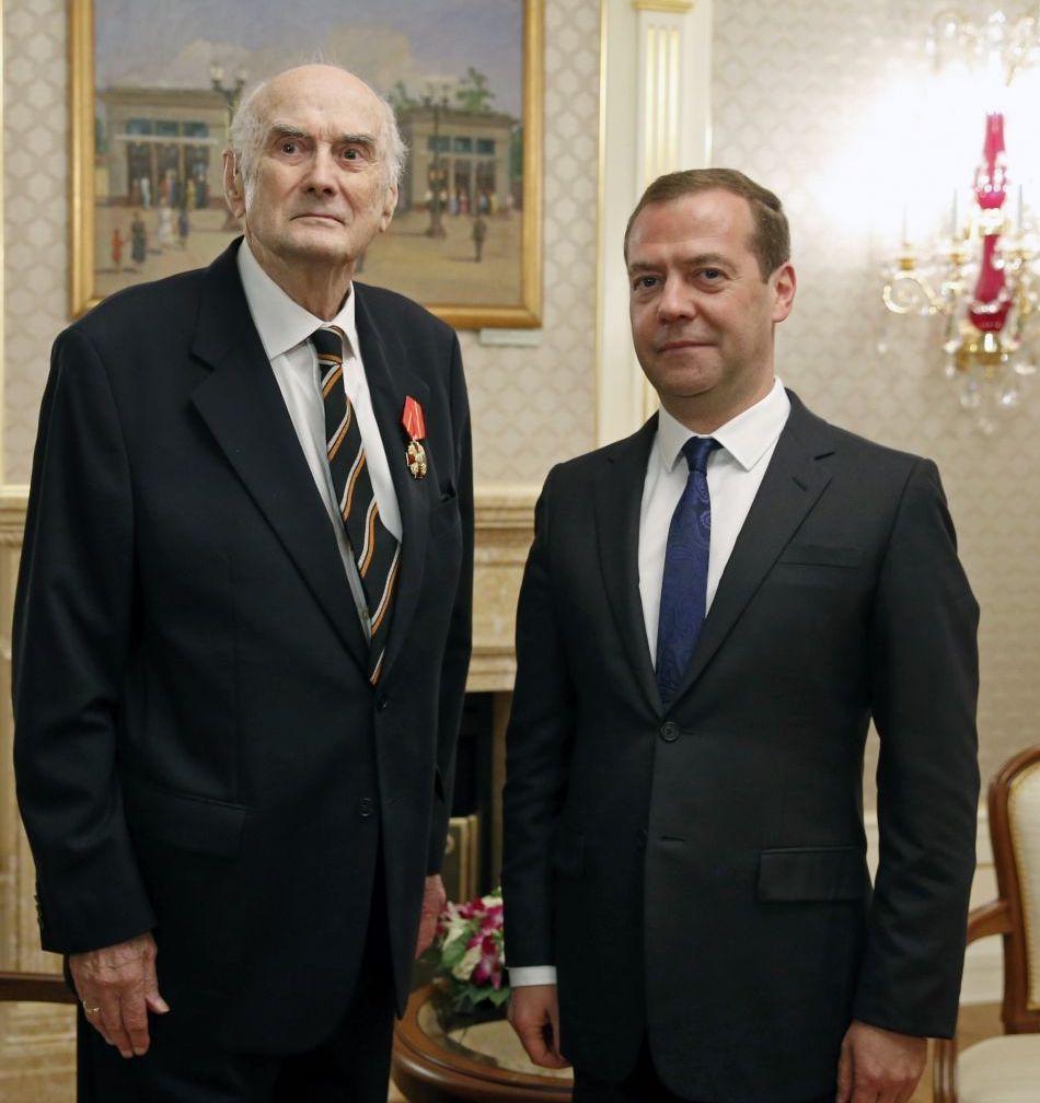 После награждения орденом Александра Невского 6 октября 2016 года